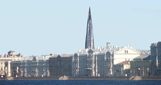 Das historische Stadtbild von Sankt Petersburg bleibt intakt. Foto: voopik.spb.ru