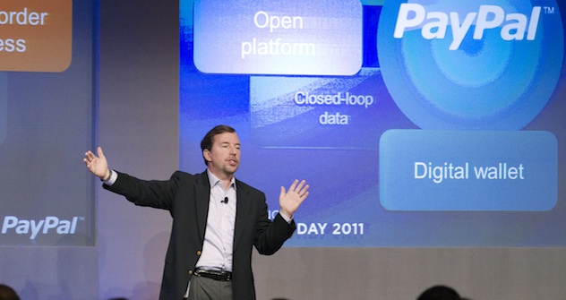 Scott Thompson, PayPal Präsident. Foto: Getty Images/Fotobank