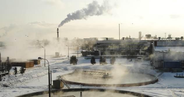 Blockheizkraftwerk in Moskau. Foto: ITAR-TASS
