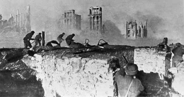 Schlacht von Stalingrad. Foto: RIA Novosti