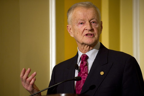 Zbigniew Brzezinski, an adviser and board member of the Center for Strategic and International Studies focusing on current and upcoming trends in Russia-Western relations. A former national security adviser to President Jimmy Carter, Brzezinski remai
