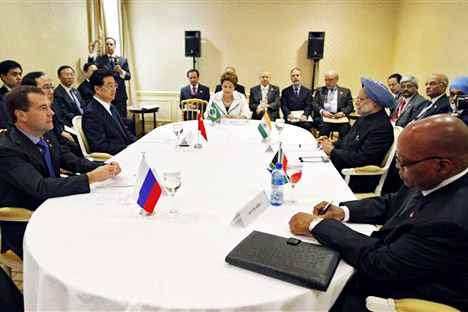 The recent G20 summit indicated that the BRICS group is becoming an influential geopolitical player. Source: AP