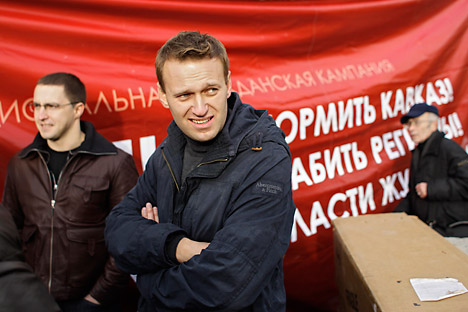 Alexei Navalny, Russia's vocal anti-corruption campaigner. Source: AP
