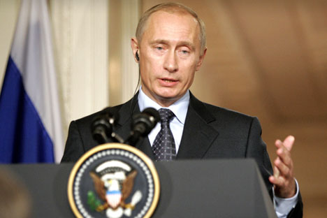 What will Vladimir Putin's return to the presidency mean for U.S.-Russia relations? Source: AP