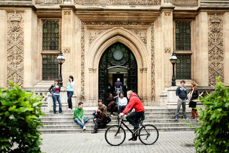 The library of King's College London. Source: Press Photo