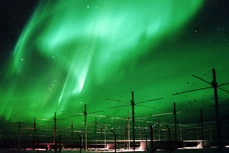 The American HAARP research facility,located in Alaska. Source: Press Photo