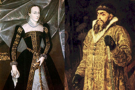 Mary I of England and Ivan the Terrible of Russia