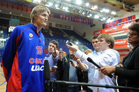 Andrei Kirilenko. Source: Kommersant
