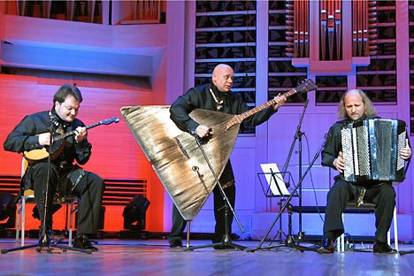 The Terem Quartet brings together musicians with a true Russian soul. Source: Kommersant