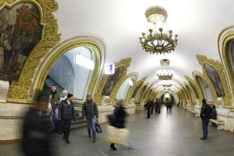 Moscow metro is recognized to be the best in the world. Source: RIA-Novosti