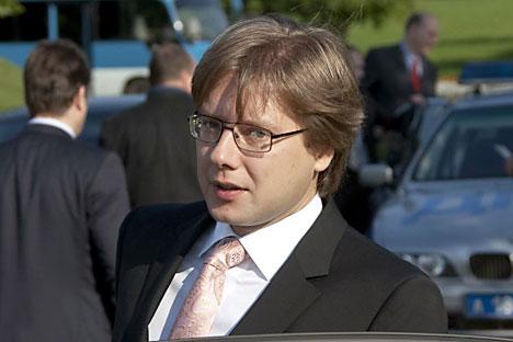 Nils Ushakov, the mayor of  Riga. Source: RIA Novosti