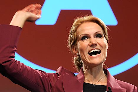 New Danish Prime Minister Helle Thorning-Schmidt. Source: Reuters / Vostock Photo