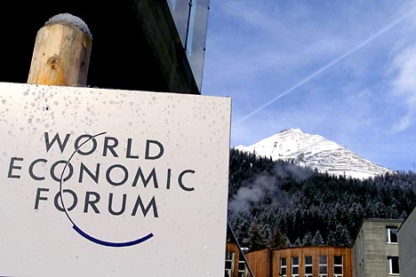 The West will take into account the experience of developing countries to come up with a new economic model during the 2012 World Economic Forum in Davos. Source: Reuters / Vostock Photo