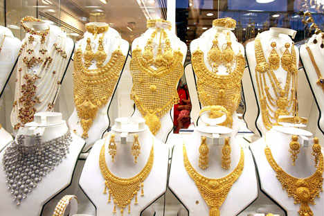 A jewelry store in Moscow. Source: ITAR-TASS