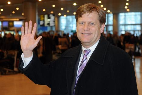 New U.S. Ambassador in Russia Michael McFaul came to Moscow. Source: ITAR-TASS