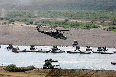 The preparations for the Caucasus 2012 strategic command-and-staff exercise are in full swing. Source: ITAR-TASS