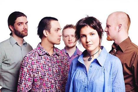 Russia's new music band, Tinavie, attracted attention among fans of experimental music genres. Source: Tinavie