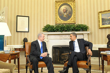 The March 5 talks between US President Barack Obama and Israeli Prime Minister Benjamin Netanyahu in Washington. Source: GPO