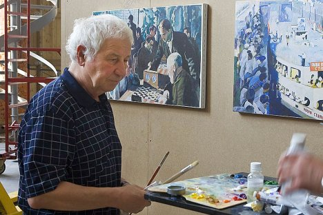 Ilya Kabakov went from underground, to exile, to international acclaim. Source: ITAR-TASS