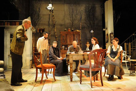"The recently-relocated Arcola Theatre in Dalston hosts a compelling production of ""Uncle Vanya"" until June 4th."