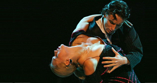 Tango has found an enormous popularity in Russia for the last decade. Source: AFP