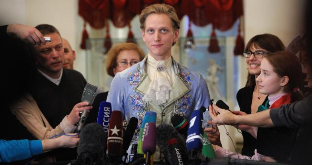 American ballet dancer David Hallberg. Source: ITAR-TASS