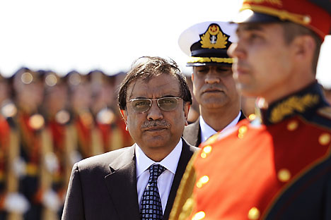 The president of Pakistan Asif Ali Zardari.   Source: Itar Tass