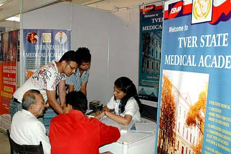 Russian Educational Fair 2011 in New Delhi