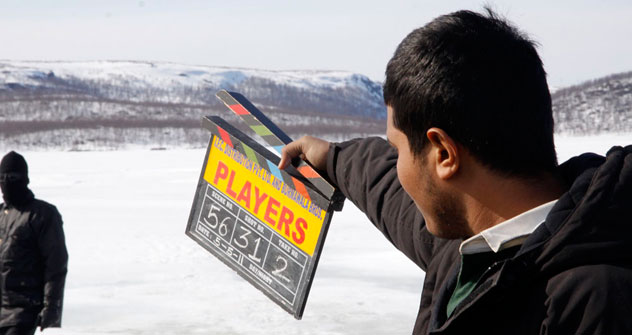 Abbas-Mustan are shooting an action thriller tentatively called Players on location north of the Arctic Circle in Russia.   All photos by Aleksei Mikhailov