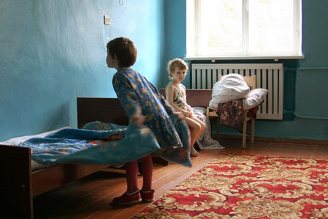 Private virtue: a German foundation provides funding for this orphanage in Pskov. Photo: Dmitry Markov