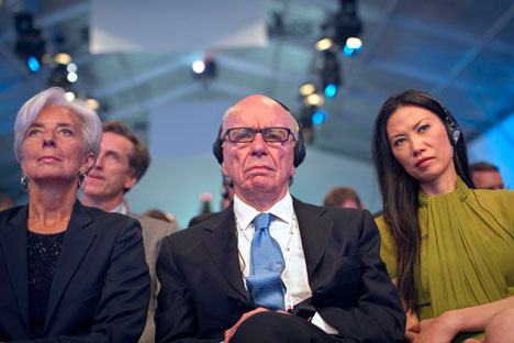 Rupert Murdoch. Source: AP