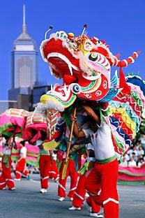 Chinese dragon. Photo: Alamy