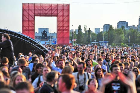 White Nights festival in Perm.   All photos by Darya Gonzales