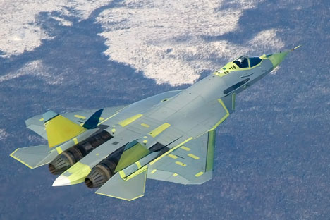 T-50 fighter.   Source: Sukhoi