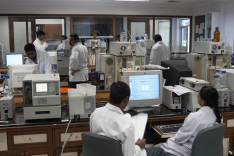 Dr Reddy's Quality Control Lab in Hyderabad, India