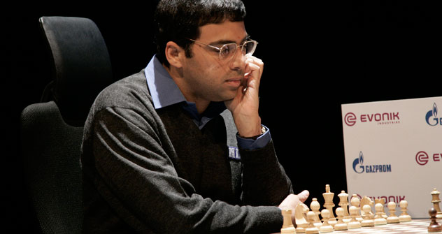 Viswanathan Anand.   Source: AP