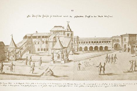 Posolsky Prikaz (Departamento de Embajadas), Moscú, siglo XVI