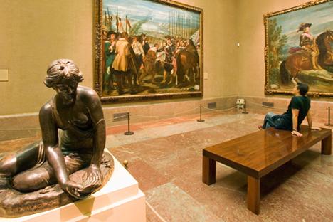 Una sala del Museo del Prado, en Madrid. Foto de alamy/photas
