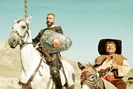 """Don Quijote"" de Grigori Kózintsev. Imagen de kinopoisk.ru"