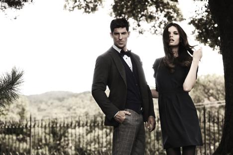 Trajes de la marca ETIEM. Foto de www.fashionfromspain.com