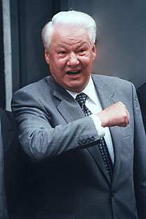 Borís N. Yeltsin. Foto de GettyImages/Fotobank