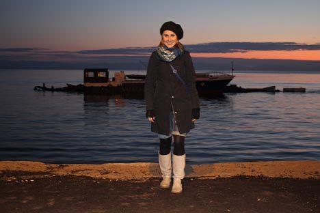 Russland HEUTE Korrespondentin Anastasia Gorokhova. Foto: Evgenija Svetlakova