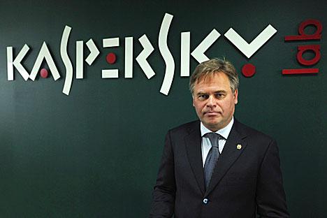 Evgueni Kasperski. Foto de RIA novosti