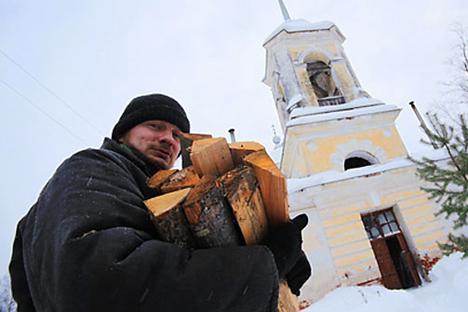 """Epifanía """"española"""" en la Rusia profunda. Fuente: Ria Novosti"""