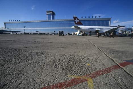 Aeropuerto moscovita de Domodédovo. Foto de RIA Novosti