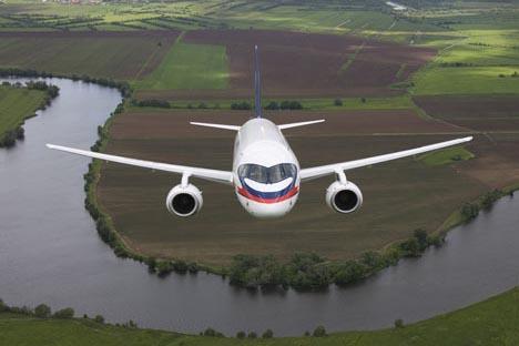 Suchoi Superjet 100. Foto: www.sukhoi.org