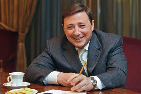 Alexánder  Jloponin, enviado de Medvédev al Cáucaso Norte. Foto de Kommersant