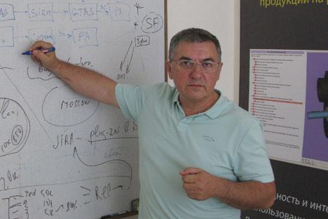Komplexes einfach erklären - das ist das Erfolgsgeheimnis von Georgi Patschikow.