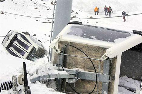 Terror en el Cáucaso. Foto de Reuters