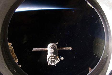 Ein Blick aus dem Fenster der internationalen Raumstation. Foto: NASA